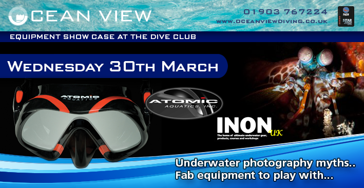 Inon and Atomic Aquatics Evening