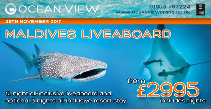 Ocean View Maldives live aboard