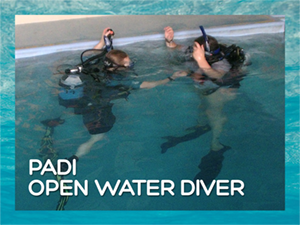 PADI Open Water Diver hero