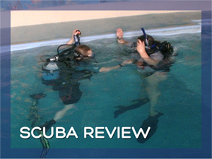 Scuba Review Checklist page