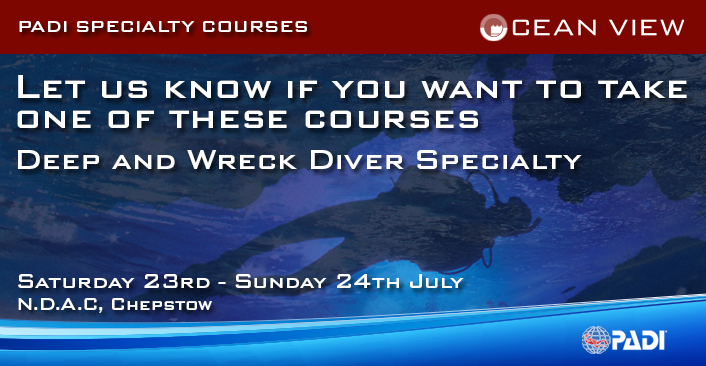 Deep and Wreck Diver