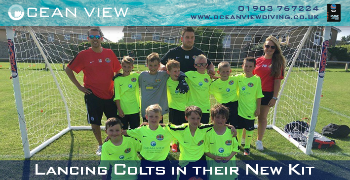 Lancing Colts New Kit FB