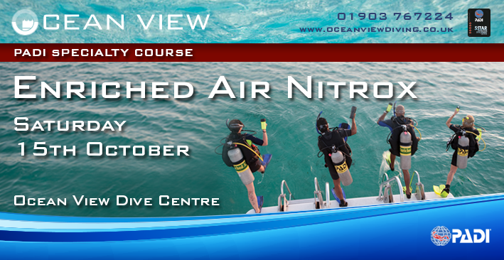 enriched air diver course