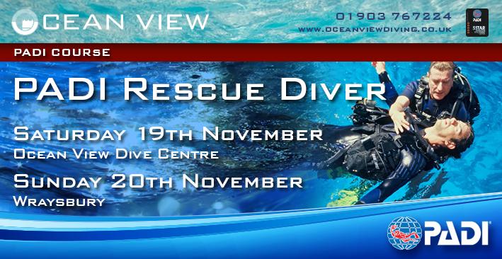 PADI Rescue Course November 2016