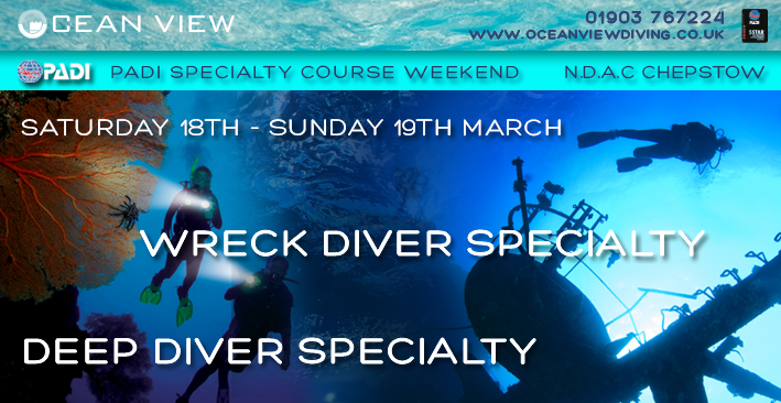 NDAC Deep and Wreck courses March 18-19 2017