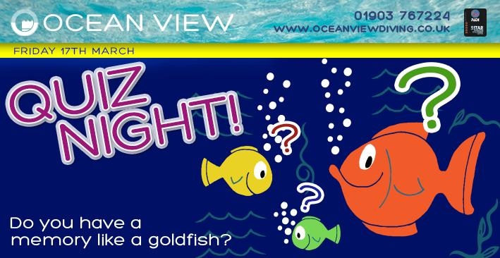 Dive Club Quiz Night