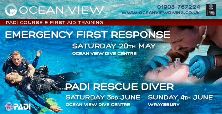 PADI Rescue and Emergency first Response
