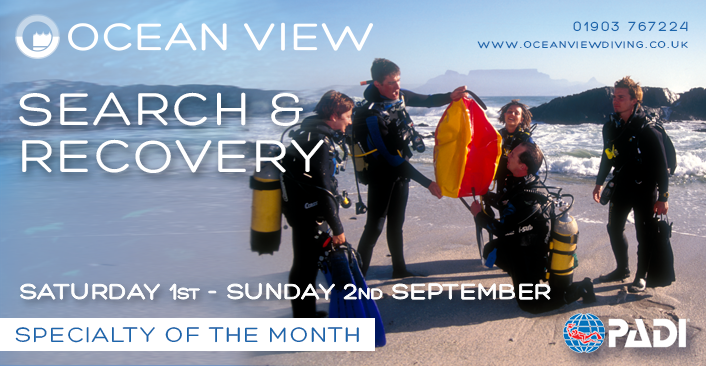PADI Search & Recovery Speciality of the Month