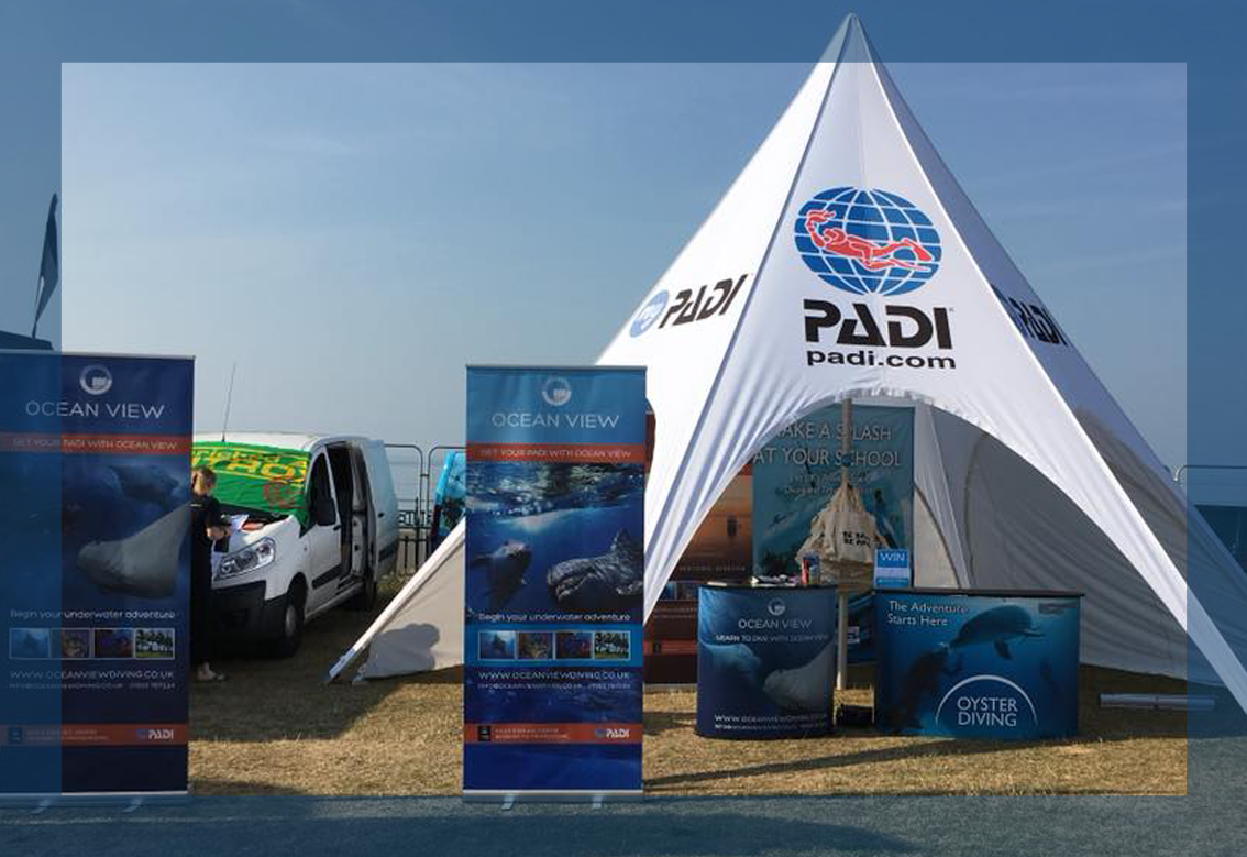 Our stand at Paddle