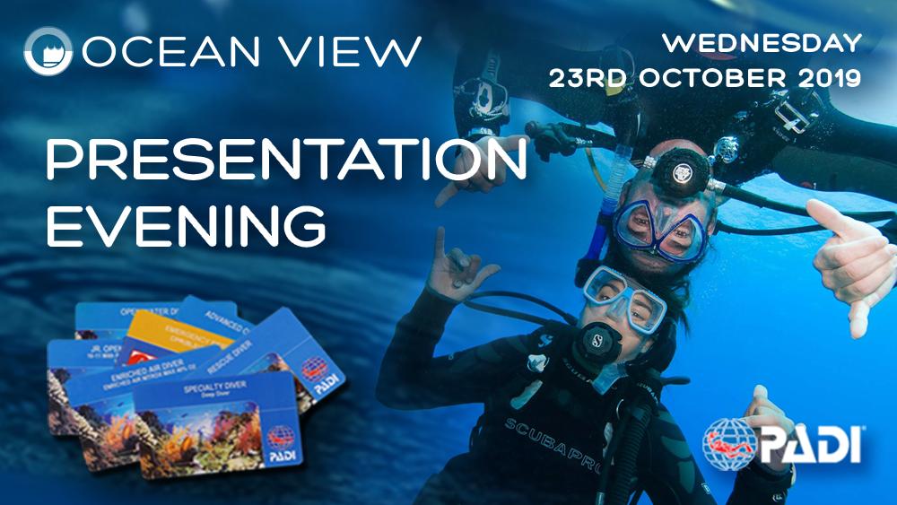Presentation Evening 23rd October 2019