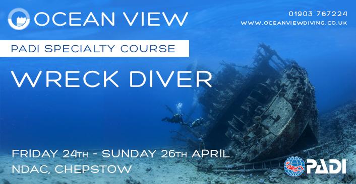 Wreck Diver April 2020