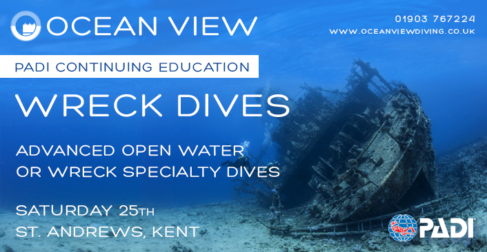 Wreck Dives April update