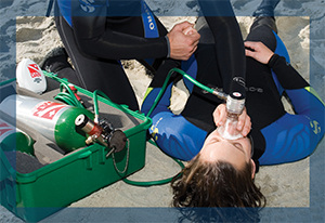 PADI Specialty Courses Emergency Oxygen provider