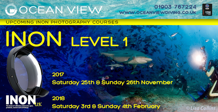 INON Level 1 photography courses 2017 2017