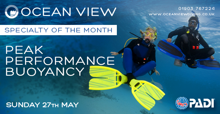 Peak Performance Buoyancy Specialty of the Month 2018