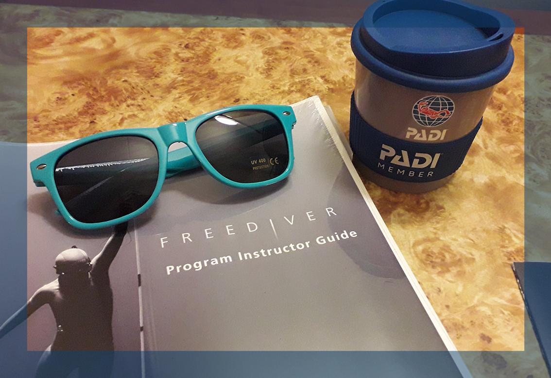 PADI Freediver Instructor Camp Freediving manual preparation