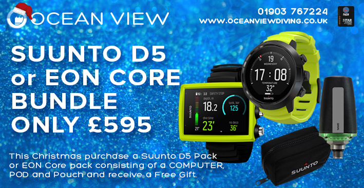 Suunto D5 and EON CORE Xmas 2019