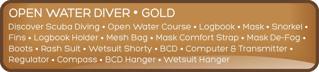 GOLD DIVER