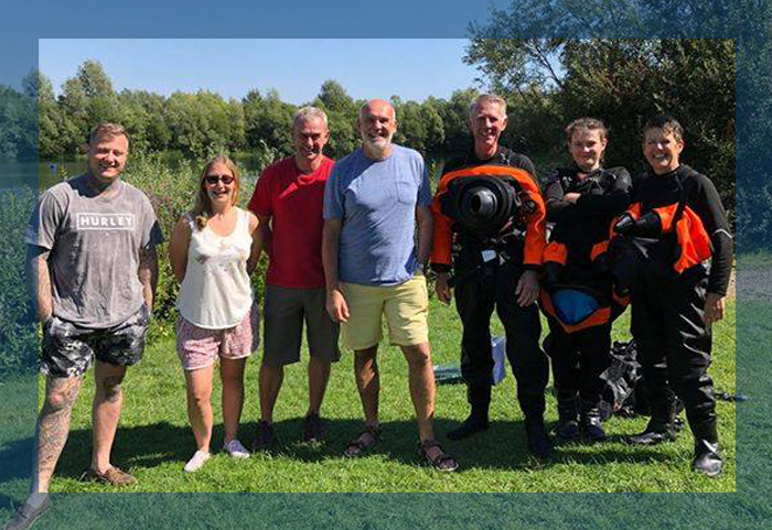 My Scuba Journey Open water and drysuit