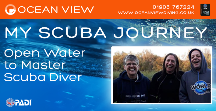 My Scuba Journey from Open Water to Master Scuba Diver