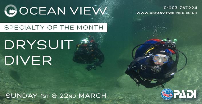 Drysuit Diver course March 2020