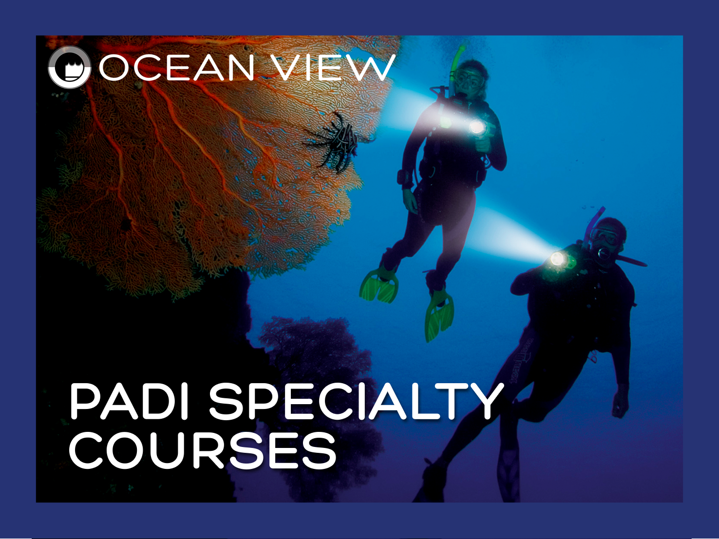 PADI Specialty with logo