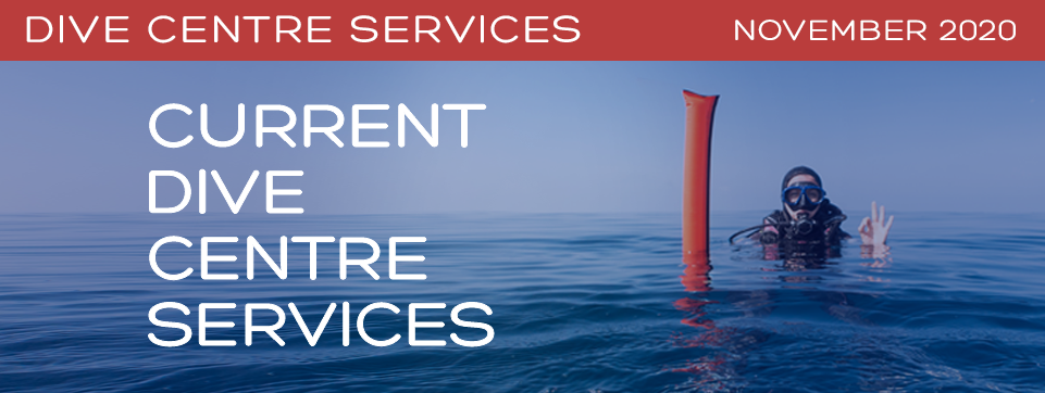 Dive Centre Services November 2020