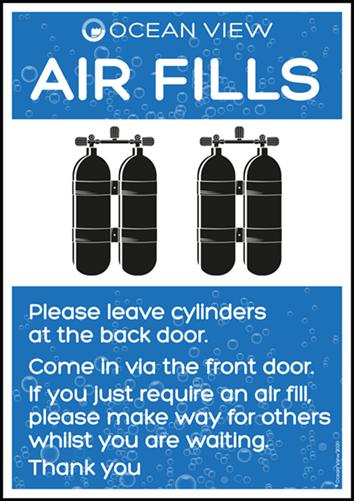 Air Fills website