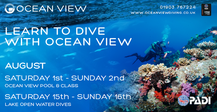 Open Water course August 2020