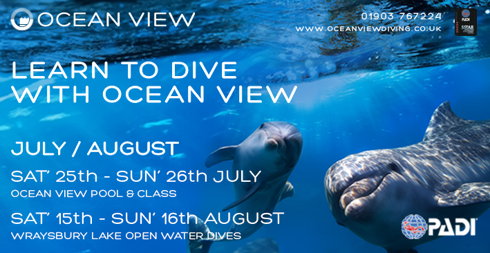 Open Water course July August 2020
