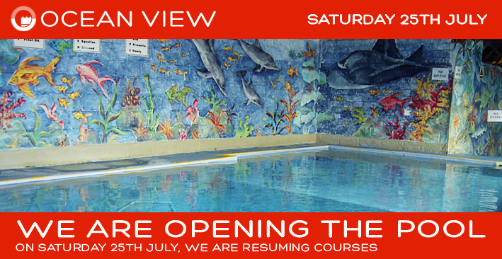 Re-opening the pool 25th July