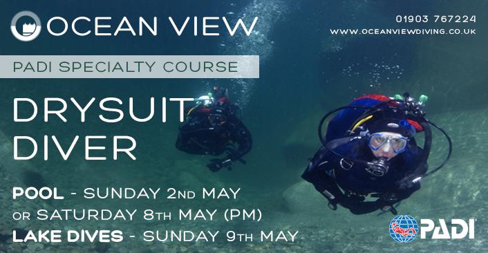 PADI Drysuit Diver May 2021