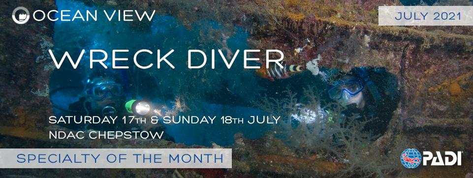 Wreck Diver July 2021