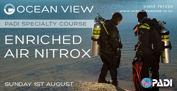 Nitrox course August 2021